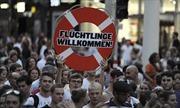 Biểu tình phản đối phân biệt sự đối xử người di cư ở Áo