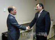 Chủ tịch Quốc hội Nguyễn Sinh Hùng tiếp lãnh đạo Trung Quốc, IPU và Belarus