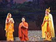 Sân khấu chèo dựng hình tượng Đức Phật Thích Ca