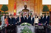 Phó Thủ tướng Nguyễn Xuân Phúc tiếp Đoàn doanh nghiệp Hoa Kỳ
