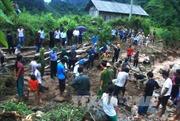 Nỗ lực tìm kiếm nạn nhân mất tích do lũ ống tại Hà Giang