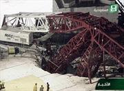 Sập cần cẩu ở Thánh địa Mecca, ít nhất 107 người chết