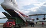Hai máy bay chở hàng cứu trợ của Nga tới Syria