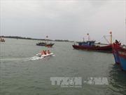 Cứu tàu cá bị thả trôi trên vùng biển Trường Sa