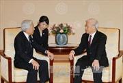Tổng Bí thư Nguyễn Phú Trọng hội kiến Nhật Hoàng Akihito