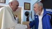 Lãnh tụ Fidel Castro tiếp Giáo hoàng Francis I