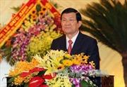 Chủ tịch nước dự khai mạc Đại hội Đảng bộ tỉnh Thanh Hóa