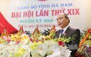 Đại hội Đảng bộ tỉnh Hà Nam xác định hướng phát triển