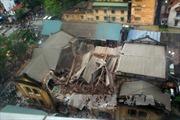 Hà Nội tiếp tục khắc phục sự cố vụ sập nhà cổ