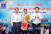 Đài truyền hình TP.HCM vô địch Giải cờ tướng TTXVN mở rộng 2015