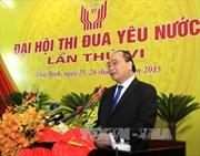 Phó Thủ tướng Nguyễn Xuân Phúc dự Đại hội thi đua yêu nước tỉnh Thái Bình