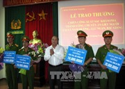 Khen thưởng thành tích phá án giết người phân xác phi tang tại Bắc Giang