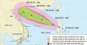 Tin bão số 4 trên Biển Đông
