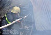Hỏa hoạn thiêu rụi xưởng may mặc tại TPHCM