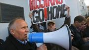 Belarus: Biểu tình phản đối căn cứ quân sự Nga