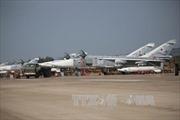 Tiêm kích Nga chặn máy bay không người lái Mỹ ở Syria