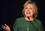 Bà Hillary Clinton phản đối TPP