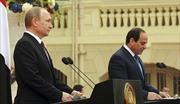 Ai Cập, Nga nhấn mạnh giải pháp chính trị tại Trung Đông