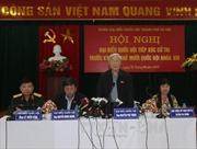 Tổng Bí thư Nguyễn Phú Trọng tiếp xúc cử tri Tây Hồ-Hà Nội