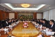 Phiên họp cấp Bộ trưởng Nhóm hợp tác về cơ sở hạ tầng trên bộ Việt-Trung
