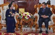 Đồng chí Nguyễn Thị Doan hội kiến Phó Chủ tịch Quốc hội Lào