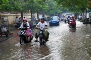 Triều cường dâng, nhiều tuyến đường thành phố Bạc Liêu bị ngập