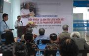 Tiếp nhận 12.000 tài liệu hiện vật của giáo sư Phạm Đức Dương