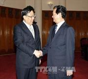 Thủ tướng tiếp Bộ trưởng An ninh quốc gia Trung Quốc
