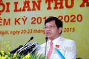 Đồng chí Lê Viết Chữ tái đắc cử Bí thư Tỉnh ủy Quảng Ngãi