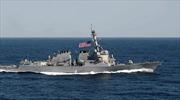 Tàu khu trục của Mỹ tiến tới bờ biển Syria