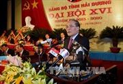 Khai mạc Đại hội Đại biểu Đảng bộ tỉnh Hải Dương lần thứ XVI