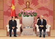 Phó Chủ tịch Quốc hội tiếp Đoàn Ủy ban Hòa bình và Đoàn kết Lào