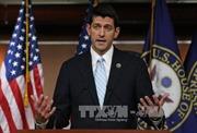 Đảng Cộng hòa đề cử ông Paul Ryan giữ chức Chủ tịch Hạ viện