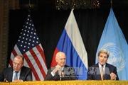 Hội nghị quốc tế mở rộng về Syria ra tuyên bố chung