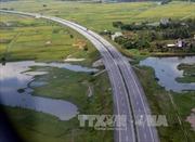 Cơ bản khắc phục lún cục bộ cao tốc Nội Bài - Lào Cai