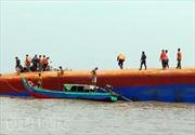 Đã vớt được xác 2 nạn nhân vụ chìm tàu sông Soài Rạp
