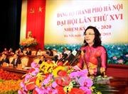 Bế mạc Đại hội Đại biểu Đảng bộ thành phố Hà Nội