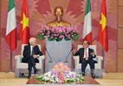 Việt Nam và Italy nhất trí tăng cường quan hệ hợp tác