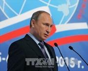 Tổng thống Putin: IS nhận tài trợ từ 40 quốc gia