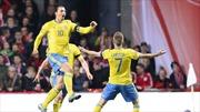 Thụy Điển và Ukraine giành vé cuối đến VCK Euro 2016