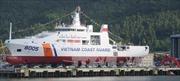 Hạ thủy tàu Cảnh sát biển 8005 tại Đà Nẵng