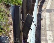 Thiết bị bảo hộ ATGT trên đèo Lò Xo bị mất cắp hàng loạt
