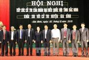 Lãnh đạo Đảng, Nhà nước tiếp xúc cử tri địa phương