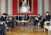 Thủ tướng hội kiến Chủ tịch Hạ viện và Thượng viện Bỉ