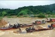 Khai thác khoáng sản trái phép ở Đắk Nông
