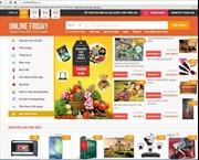Gần 2.000 doanh nghiệp tham gia OnlineFriday.vn