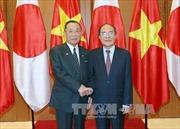 Chủ tịch Quốc hội hội đàm với Chủ tịch Thượng viện Nhật Bản