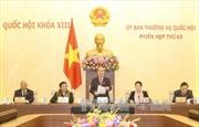 Khai mạc Phiên họp thứ 43, Ủy ban Thường vụ Quốc hội khóa XIII