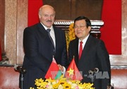 Chủ tịch nước hội đàm với Tổng thống Belarus Lukashenko
