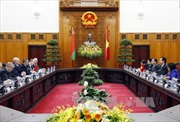Thủ tướng Nguyễn Tấn Dũng hội kiến Tổng thống Belarus